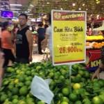 Cam Hòa Bình bị siêu thị BIG C thăng long đại hạ giá