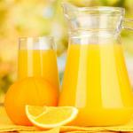 Nước cam có rất nhiều dưỡng chất